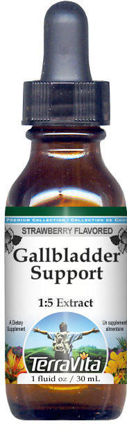 Gallbladder Support Glycerite Liquid Extract (1:5) - Strawberry Flavored