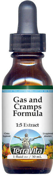 Gas and Cramps Formula Glycerite Liquid Extract (1:5)