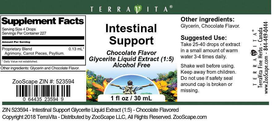 Intestinal Support Glycerite Liquid Extract (1:5)