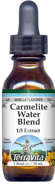 Carmelite Water Blend Glycerite Liquid Extract (1:5) - Vanilla Flavored