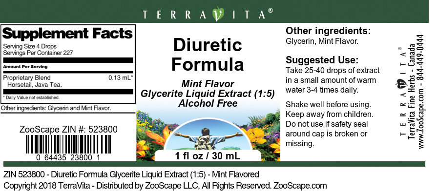 Diuretic Formula