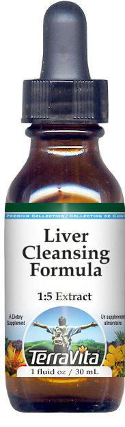 Liver Cleansing Formula Glycerite Liquid Extract (1:5) - No Flavor