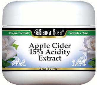 Apple Cider 15% Acidity Extract Cream
