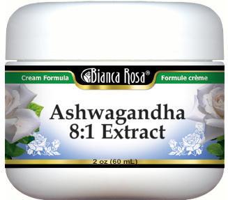 Ashwagandha 8:1 Extract Cream