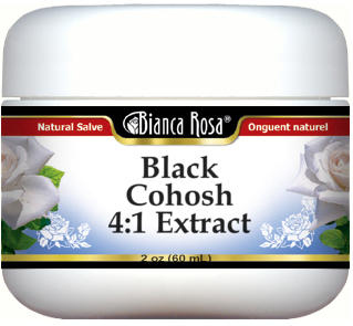 Black Cohosh 4:1 Extract Salve