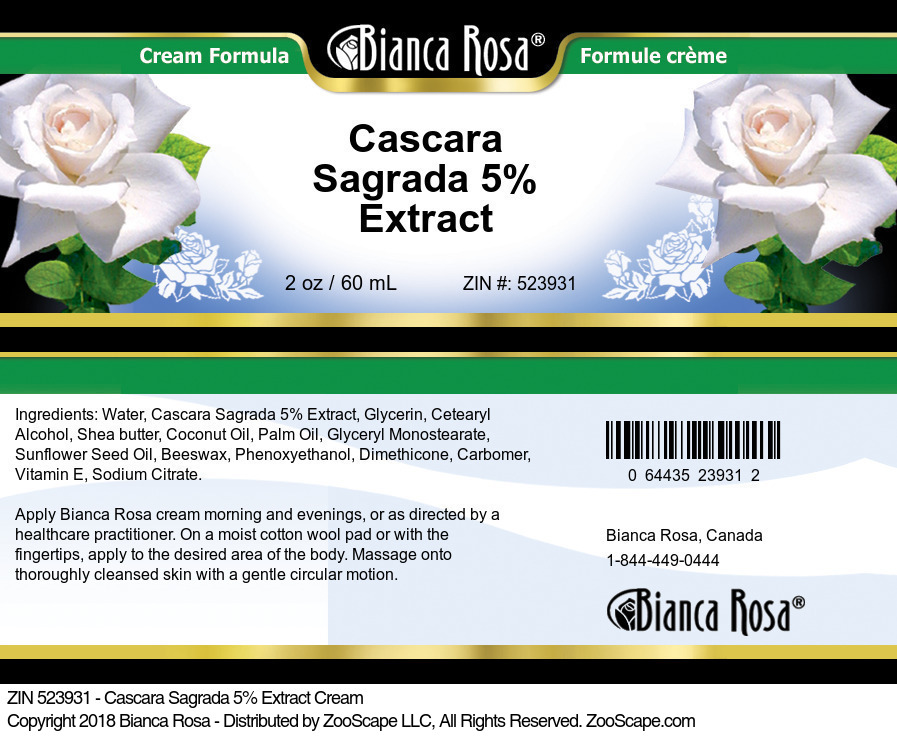 Cascara Sagrada 5% Extract
