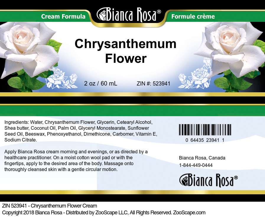 Chrysanthemum Flower Cream