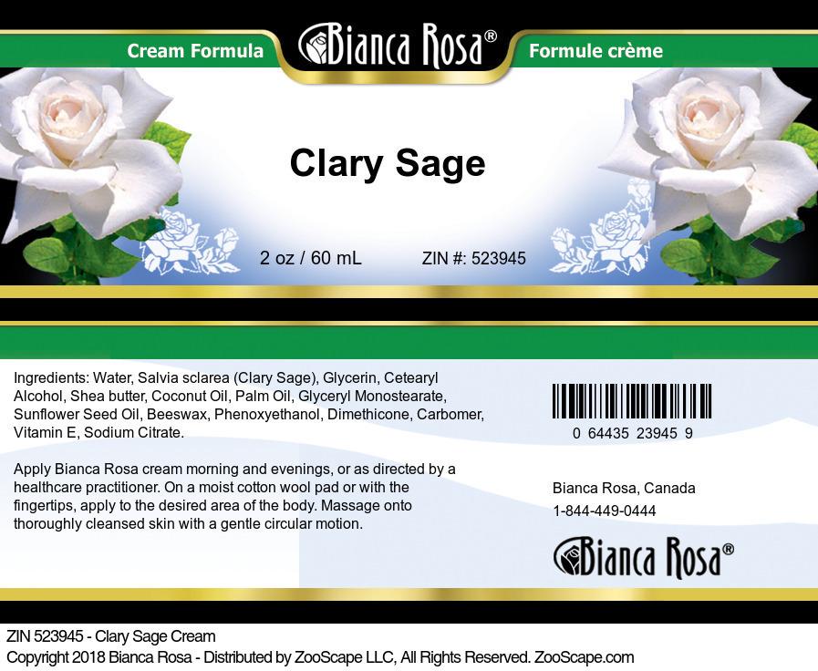 Clary Sage Cream