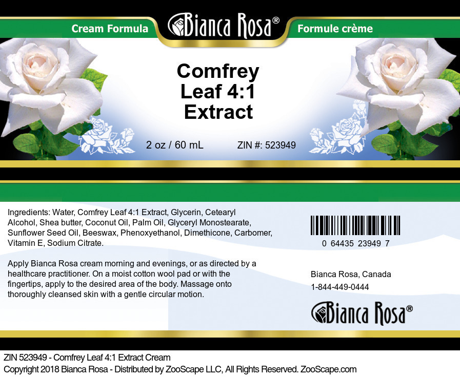 Comfrey Leaf 4:1 Extract