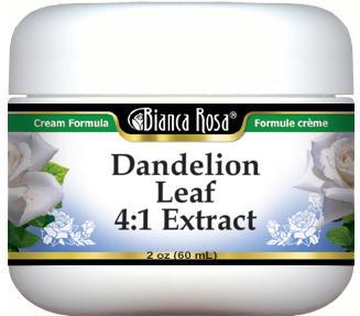 Dandelion Leaf 4:1 Extract Cream