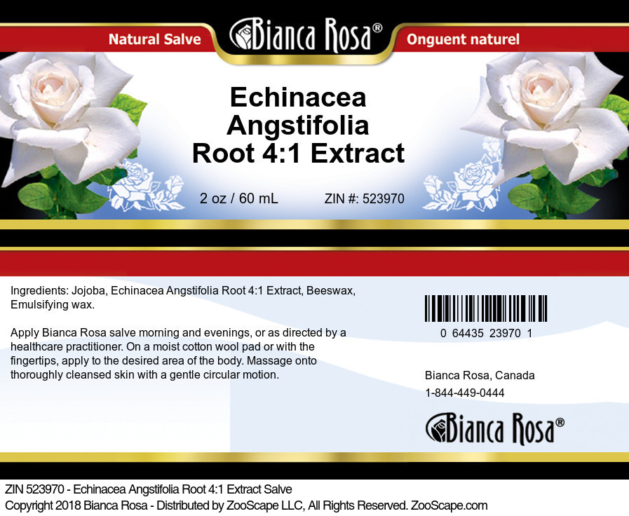 Echinacea Angstifolia Root 4:1 Extract Salve