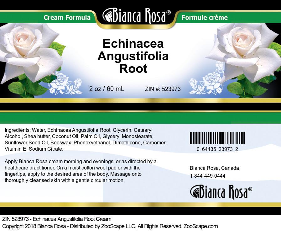 Echinacea Angustifolia Root Cream
