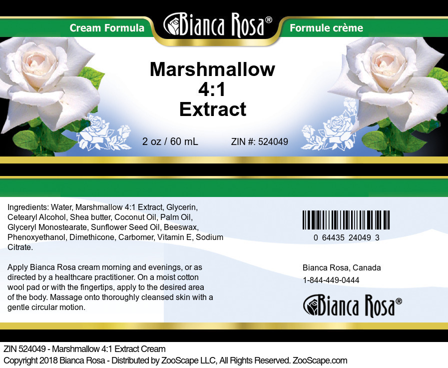 Marshmallow 4:1 Extract Cream