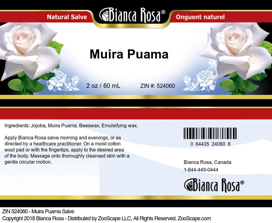 Muira Puama Salve