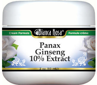 Panax Ginseng 10% Extract Cream