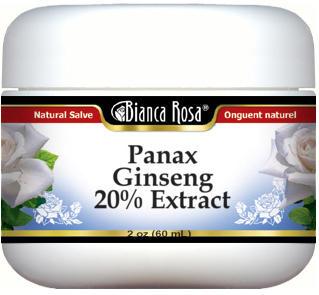 Panax Ginseng 20% Extract Salve