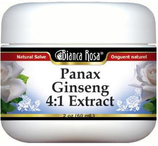 Panax Ginseng 4:1 Extract Salve