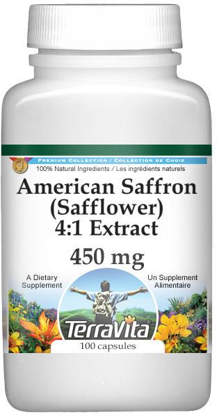American Saffron (Safflower) 4:1 - 450 mg