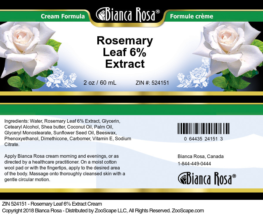 Rosemary Leaf 6% Extract