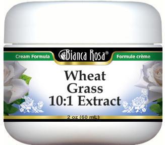 Wheat Grass 10:1 Extract Cream