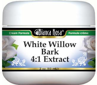 White Willow Bark 4:1 Extract Cream