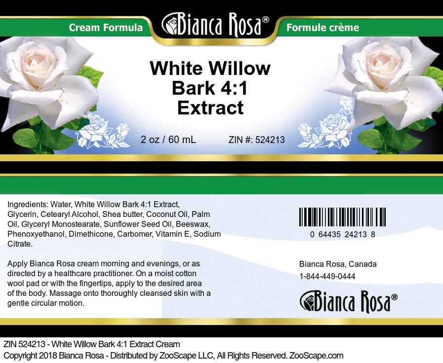 White Willow Bark 4:1 Extract