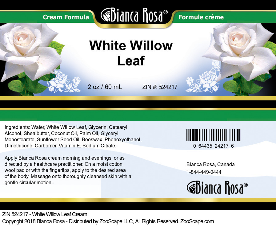 White Willow Leaf