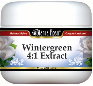 Wintergreen 4:1 Extract Salve