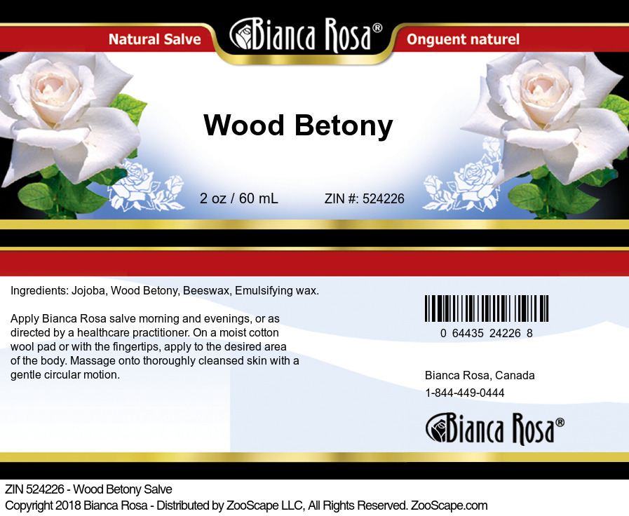Wood Betony Salve