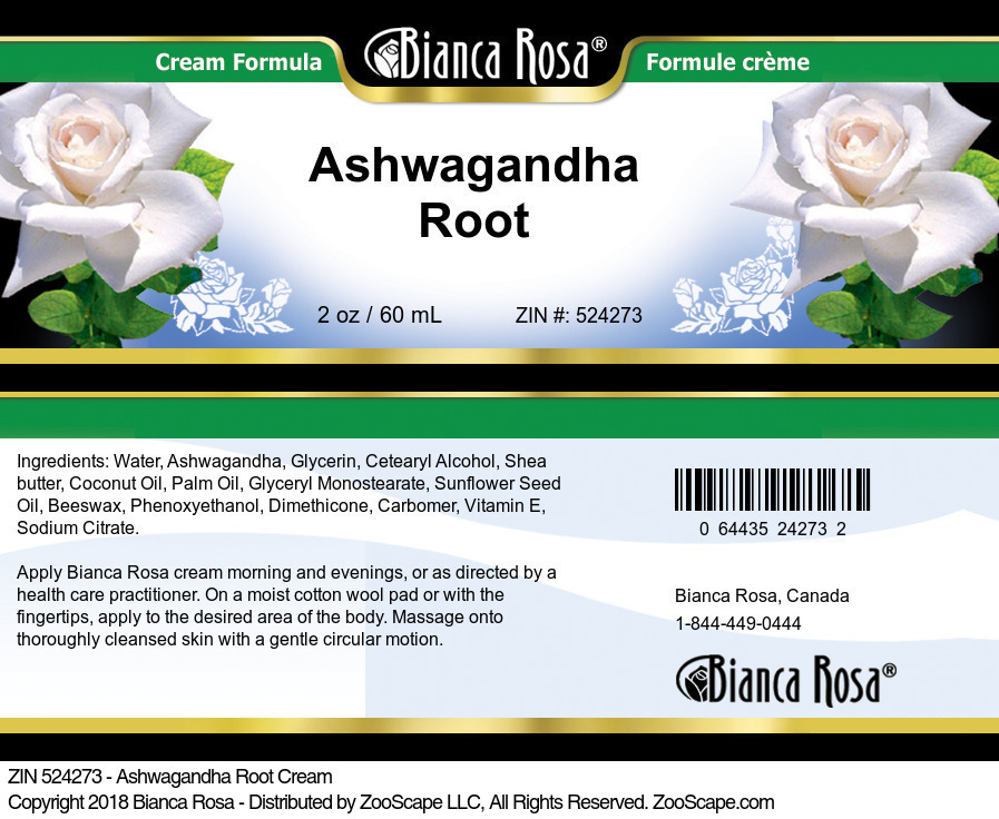 Ashwagandha Root Cream