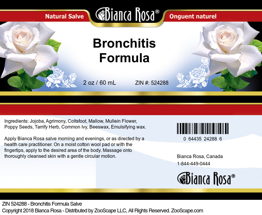 Bronchitis Formula Salve