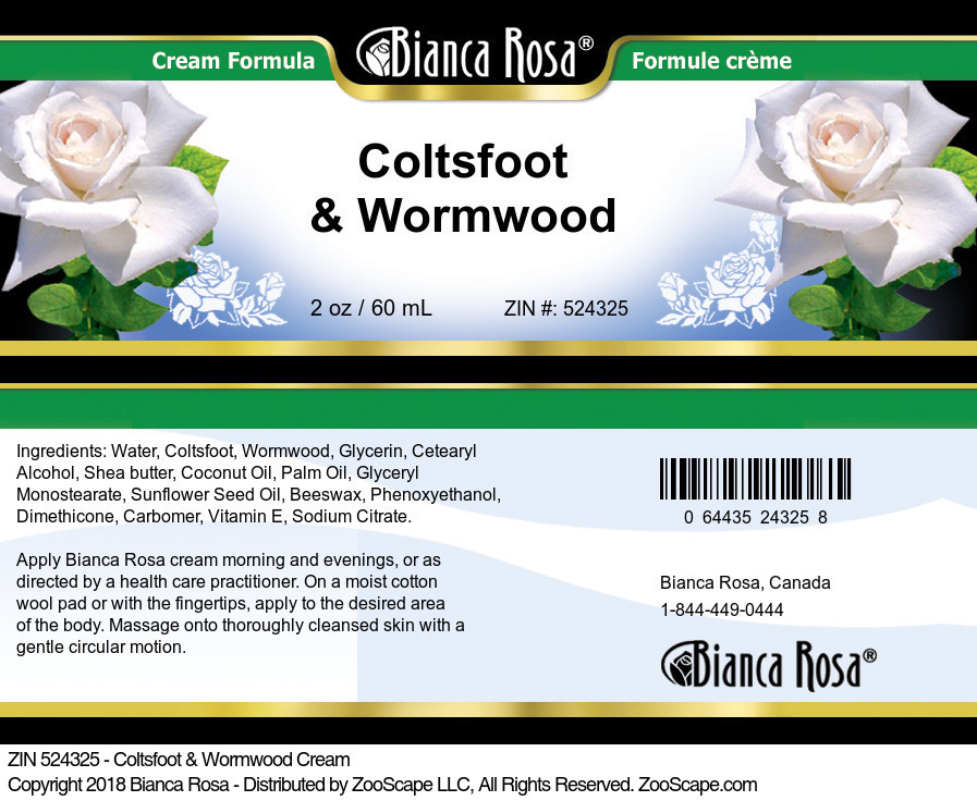 Coltsfoot & Wormwood Cream
