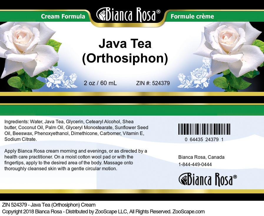 Java Tea (Orthosiphon) Cream