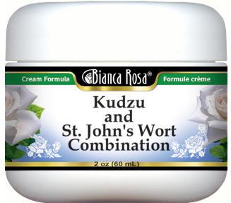 Kudzu and St. John's Wort Combination Cream