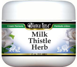 Milk Thistle Herb Plant Cream