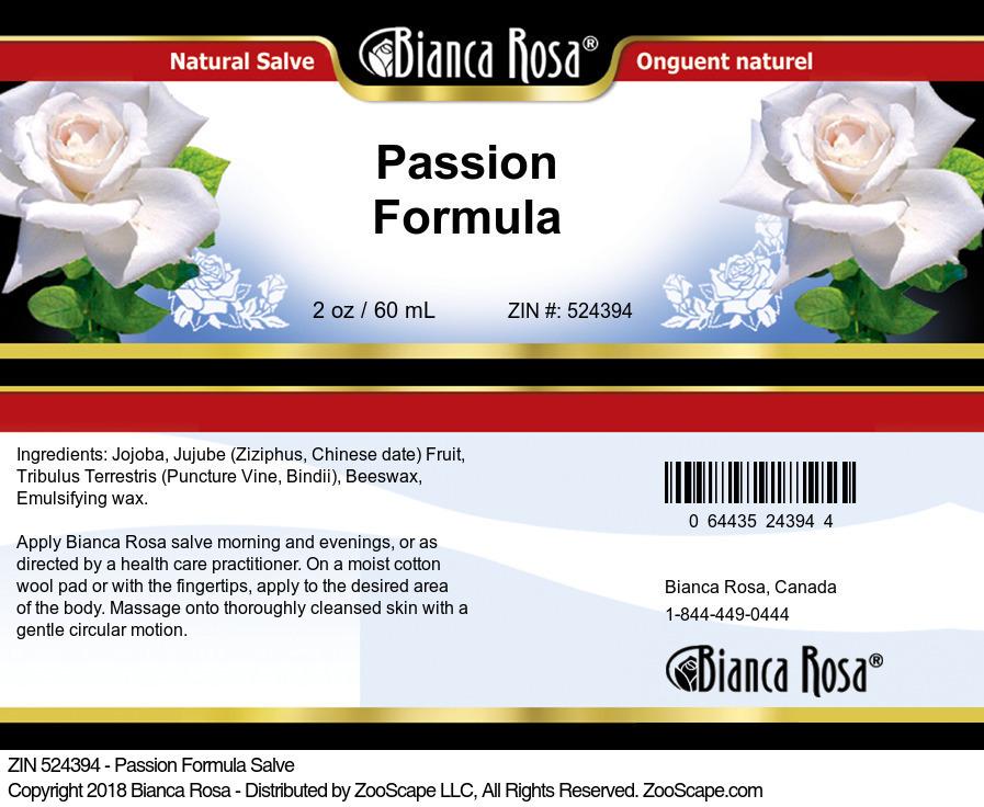 Passion Formula Salve