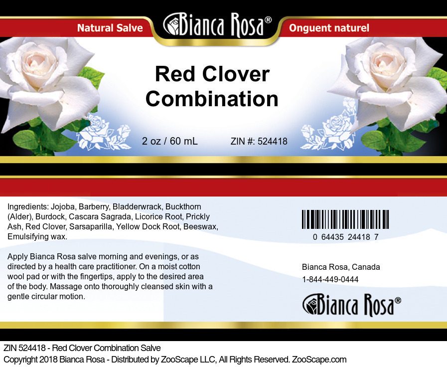 Red Clover Combination Salve
