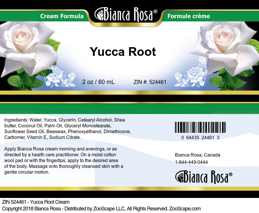 Yucca Root Cream