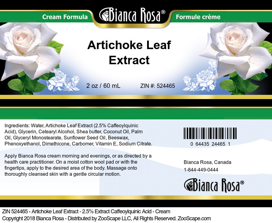 Artichoke Leaf 2.5% Extract