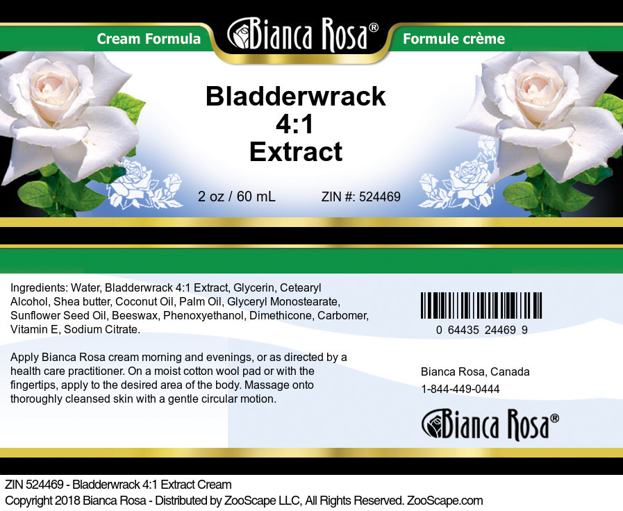 Bladderwrack 4:1 Extract Cream