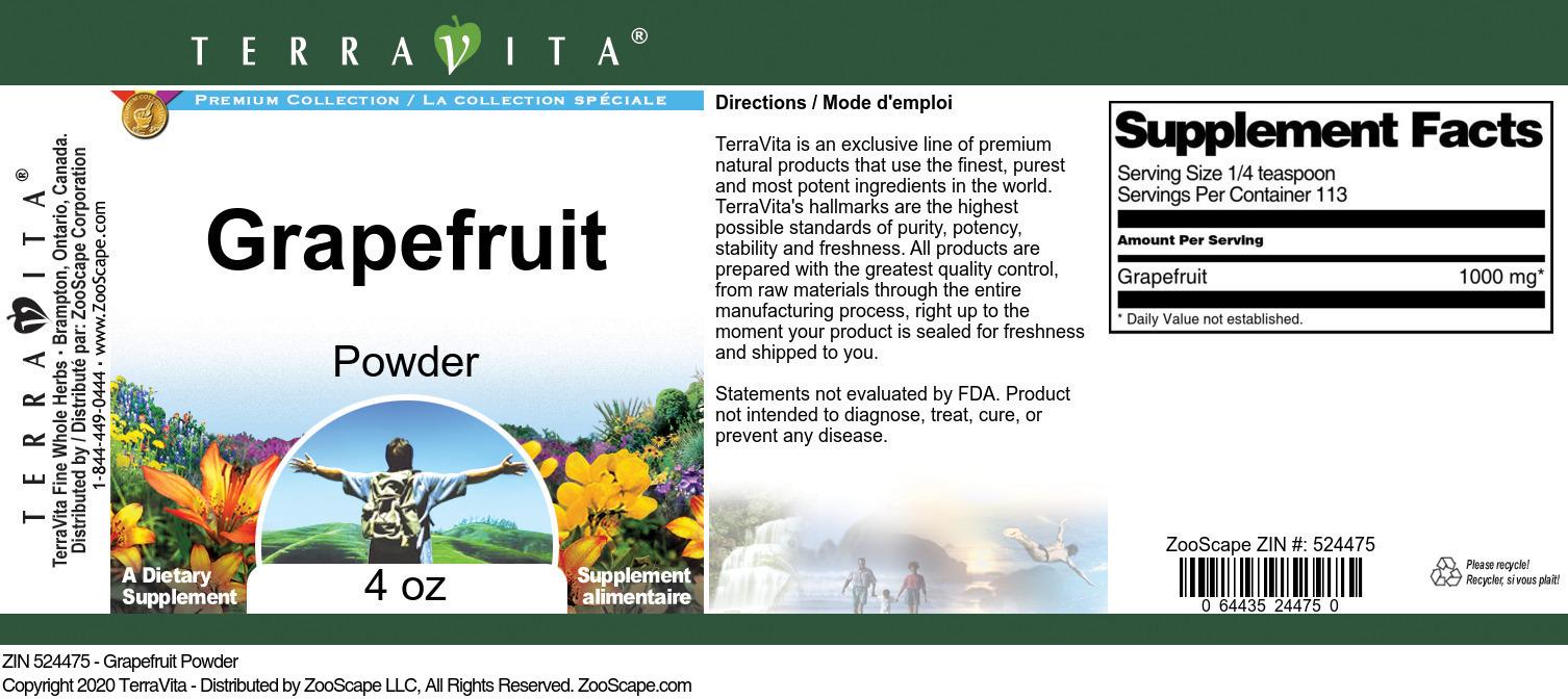Grapefruit Powder