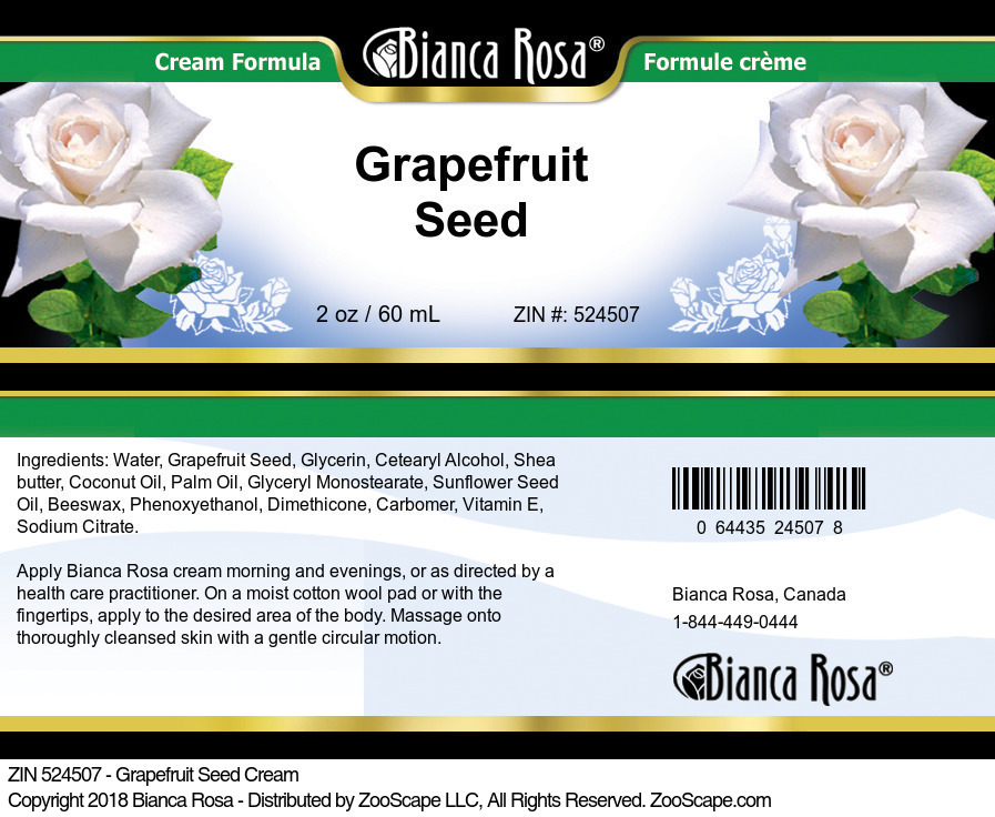Grapefruit Seed Cream