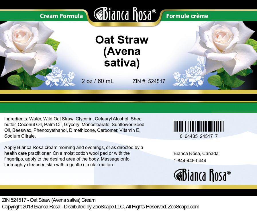Oat Straw (Avena sativa) Cream