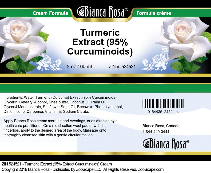 Turmeric Extract (95% Curcuminoids) Cream