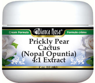 Prickly Pear Cactus (Nopal Opuntia) 4:1 Extract Cream