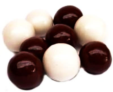 Chocolate Pretzel and Yogurt Malt Balls