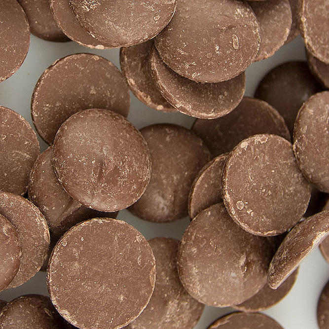 Milk Chocolate Melting Wafers (Cocoa Lite)