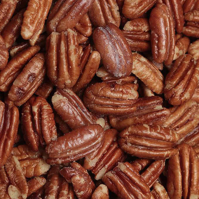 Pecan Halves <BR>(Roasted and Salted)