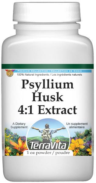 Psyllium Husk 4:1 Extract Powder