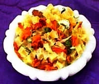 Dried Vegetable Mix <BR>(8 Vegetables)